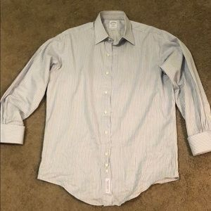 Men's Brooks Brothers striped button up